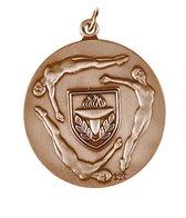 1.75 Diving Female Die Struck Medal