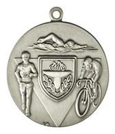 1.75 Triathlon Die Struck Medal