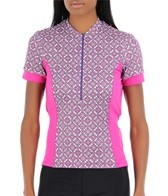 Sheila Moon Women's Dri Fit Short Sleeve Cycling Jersey