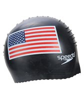 Speedo USA Flag Latex Cap