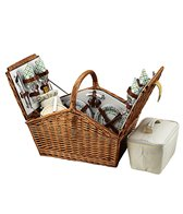 Picnic at Ascot Huntsman Picnic Basket For Four
