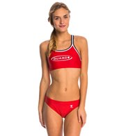 TYR Guard Solid Dimaxfit Workout Bikini Swimsuit Bottom