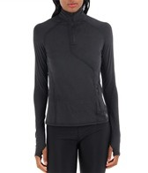 Mountain Hardwear Women's Butter Zippity Long Sleeve Running Shirt