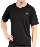 TYR Carbon Men's Short Sleeve Running Shirt