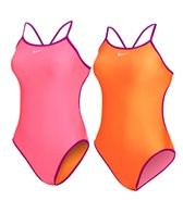 Nike Swim Reversible Solids Cut Out Tank