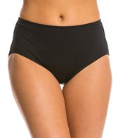 Beach House Solid High Waisted Bottom