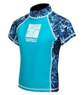 Tidepools Boys' Tonga Wonga S/S Rash Guard