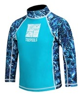 Tidepools Boys' Tonga Wonga L/S Rash Guard