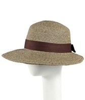Sun N Sand Clara Cotton Trim Straw Hat