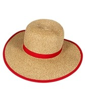 Sun N Sand French Laundry Ribbon Trim Straw Hat