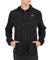 New Balance Men's Sequence Hooded Running Jacket