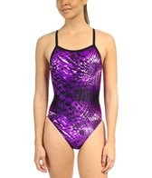 Speedo Primal Splash Flyback Swimsuit