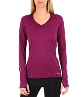 Brooks Women's Essential Long Sleeve Running V-Neck