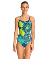 Hardcore Swim Women's Topography X-Back One Piece Swimsuit