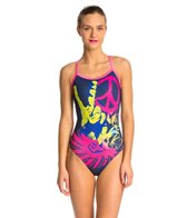 Hardcore Swim Women's Peace X-Back One Piece Swimsuit