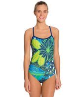 Hardcore Swim Women's Topography Cali Back One Piece Swimsuit