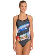 Hardcore Swim Women's Roadtrip X-Back Drag One Piece