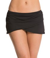 Anne Cole Color Blast Solids Sarong Swim Swim Skirt