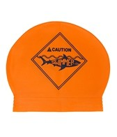 Sporti Caution Latex Swim Cap