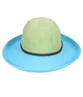 Wallaroo Women's Victoria Two-Toned Straw Hat