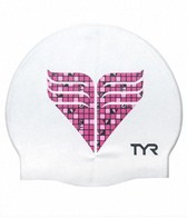 TYR Pink Silicone Cap