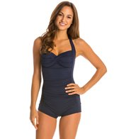 Seafolly Goddess Boyleg Maillot One Piece