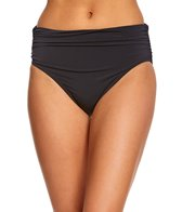 Magicsuit by Miraclesuit Women's Solids Jersey Shirred Bottom