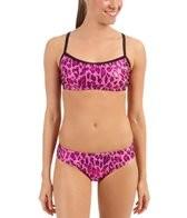 The Finals Funkies Pink Leopard 2 Piece Bikini