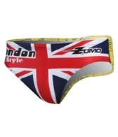 Zumo London Map Water Polo Brief