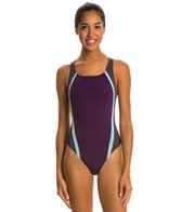 Speedo Quark Splice Pulse Back Swimsuit