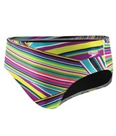 Speedo Rainbow Stripe Water Polo Brief