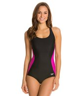 Speedo Illusion Splice Ultraback One Piece