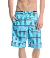 Speedo Men's Classic Plaid E-Board