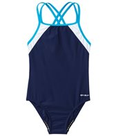 Speedo Girls' Crossback Splice
