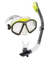 Speedo Hydroflight Mask/Dry Top Snorkel Set