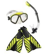 Speedo Hydroflight Mask/Snorkel/Fin Set