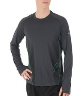 Icebreaker Men's Sonic Running Long Sleeve Crewe