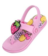 Crocs Kids' Reina Wild Fruit Flip Flops