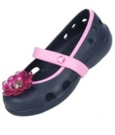 Crocs Girls' Keely Flower Flat