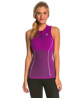 Salomon Women's EXO Motion Zip Running Tank