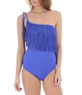 Seafolly Women's Jazz Club Asymmetrical Maillot