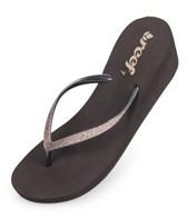 Reef Girls' Krystal Star Wedge Sandals