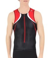 Louis Garneau Men's Tri Elite Course Sleeveless Tri Top