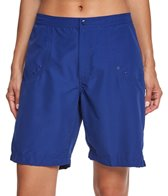 Maxine Solid Woven Long Boardshort