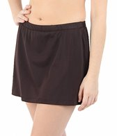 Maxine Solid Swim Skirted Pant Bikini Bottom