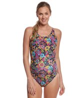 EQ Swimwear Rio Floral Black Maternity Print One Piece