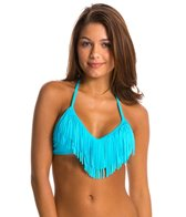Body Glove Women's Ibiza Fringe Triangle Top