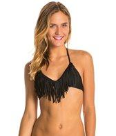Body Glove Women's Ibiza Fringe Triangle Bikini Top