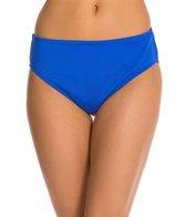 24th & Ocean Solid Hi-Waist Bikini Bottom