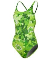 Adidas Brush Stroke Floral Cross Back 1 PC